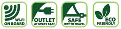 Go Bus amenities
